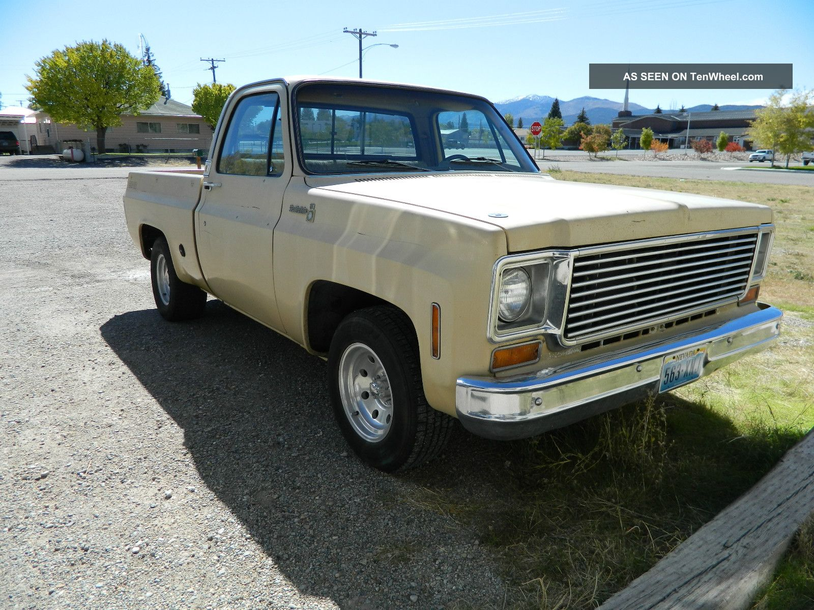 1978 Chevrolet C10 Big Ten Standard Cab Pickup 2 Door