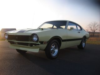 1973 Ford Maverick Grabber Green / Black 351 Strocker / Auto photo