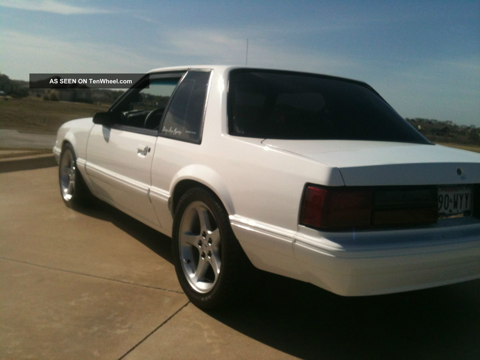 1990 Ford Mustang Lx Coupe Supercharged