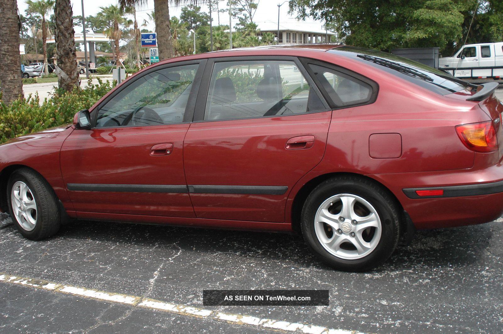 2002 Hyundai Elantra Gt Hatchback 5 Door 2 0l Interior