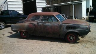 1950 Studebaker Bullet Nose Rat Rod.  350 Chevy,  S - 10 Frame photo