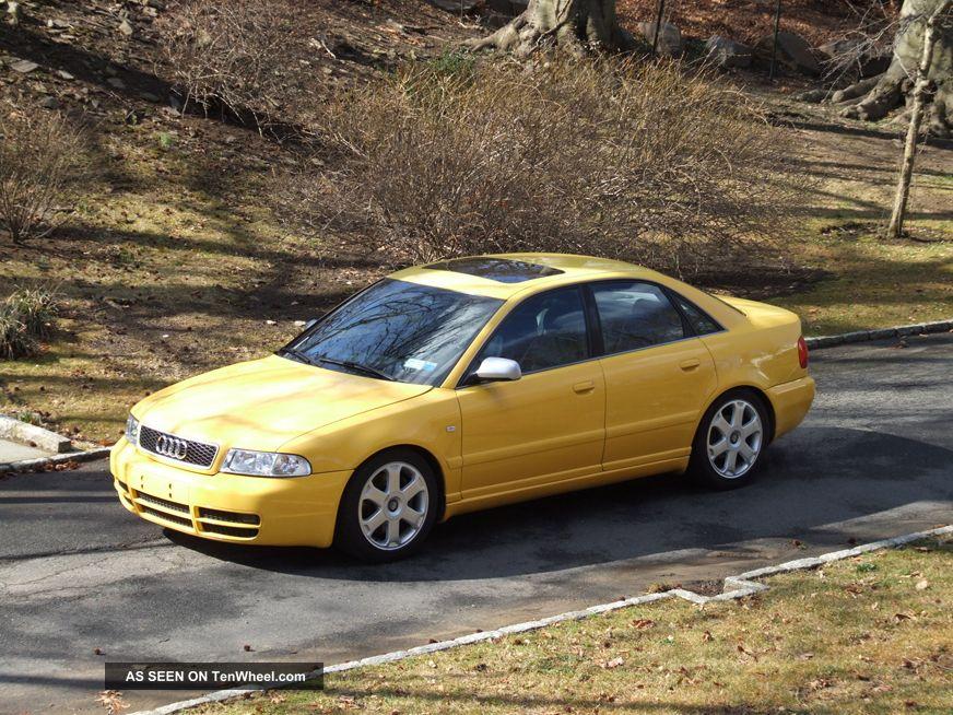 2000 Imola Yellow Audi S4 - 6 Speed - Stage 2+ S4 photo