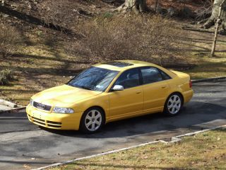 2000 Imola Yellow Audi S4 - 6 Speed - Stage 2+ photo