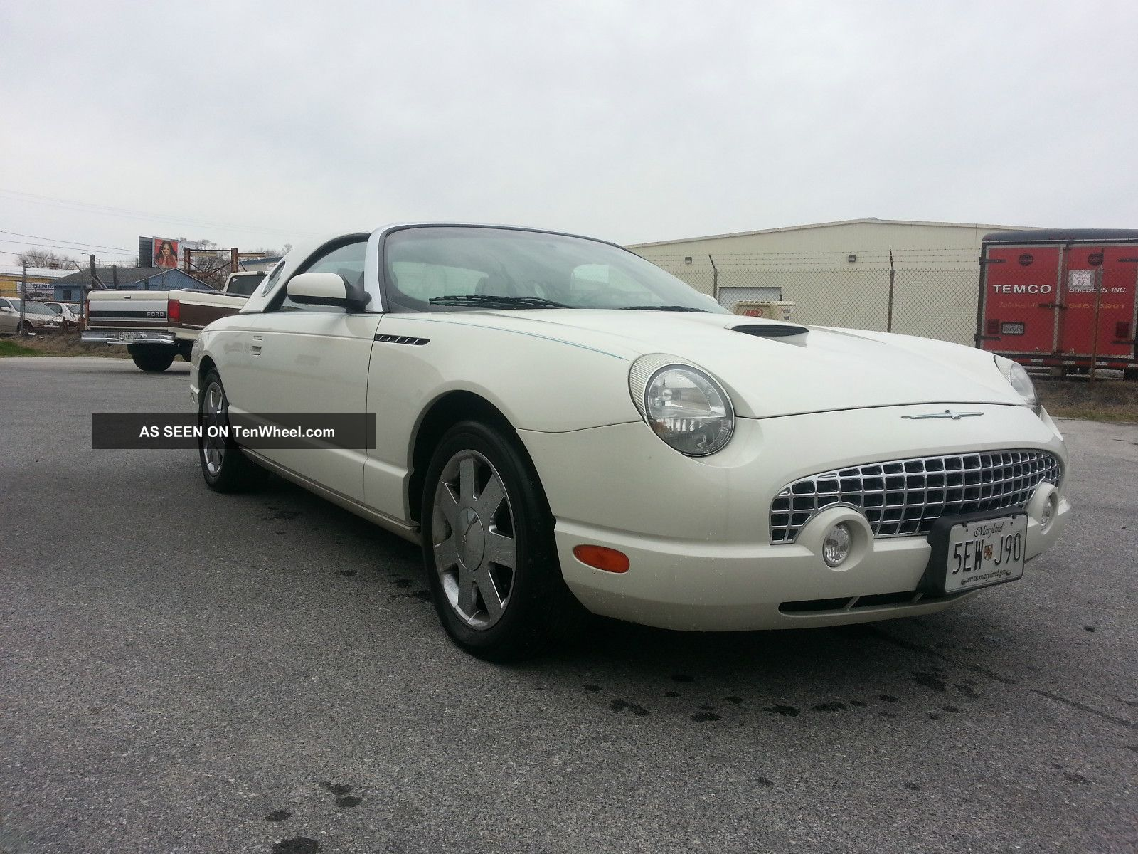 2002 ford thunderbird. Cars Review. Best American Auto & Cars Review