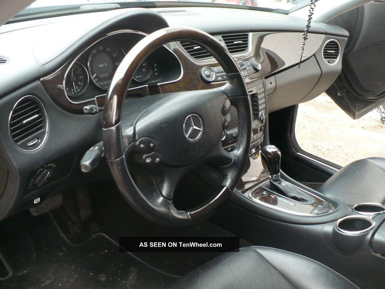 Mercedes Cls 2006 Interior 2006 Cls 500 Mercedes Benz