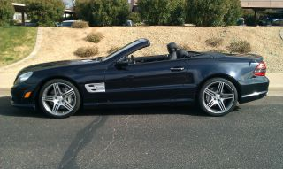 2011 Mercedes - Benz Sl63 Amg Keyless Go,  Pdc,  Comfort Pack,  Panoroof,  4k Milles photo