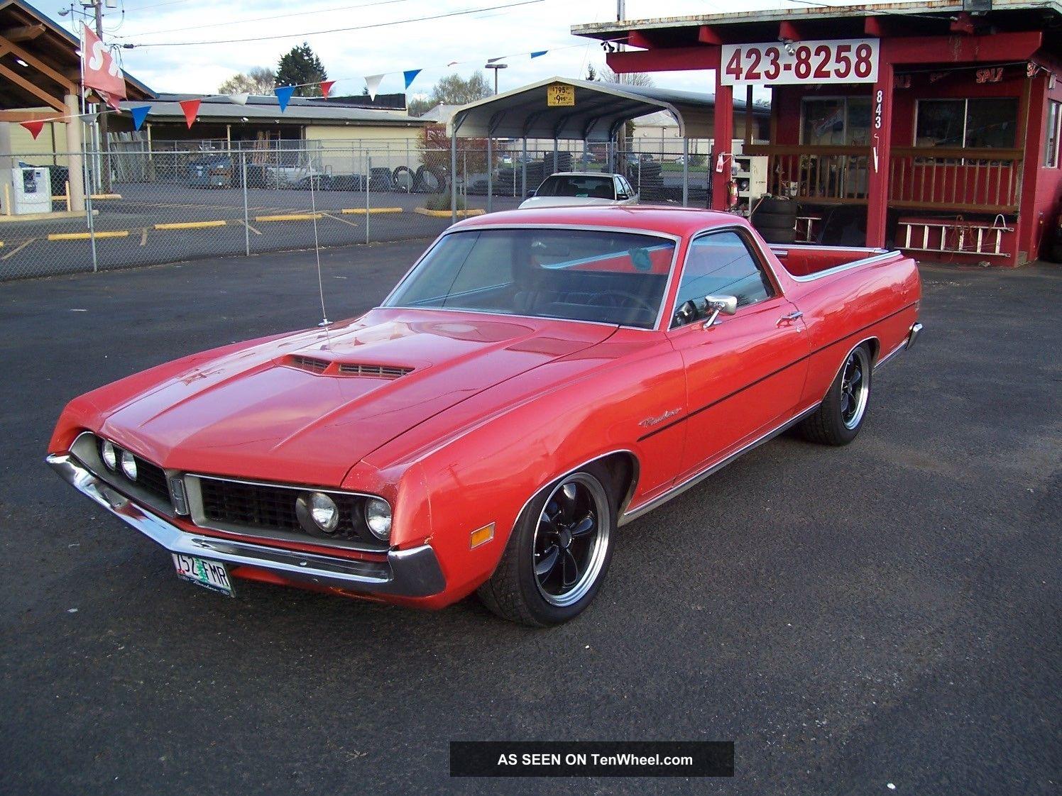 1971 Ford Ranchero 5 8l