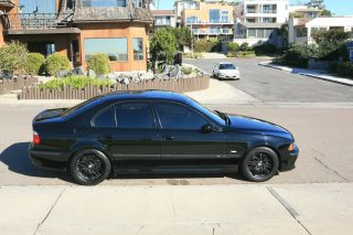 2003 Bmw M5 Base Sedan 4 - Door 5.  0l,  Black On Black,  6 - Speed photo