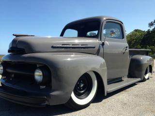 1952 Ford F1 Pickup Truck Flathead V8 Complete Restoration Hot Rod F100 Nr photo