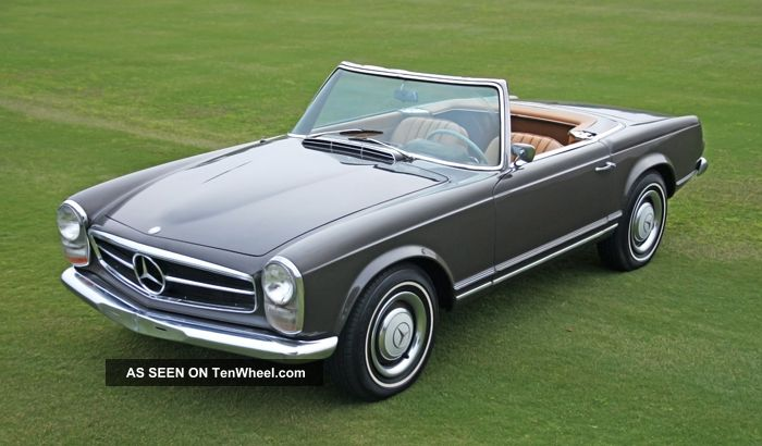 1966 Mercedes 230sl - Gorgeous,  Solid & Mechanically Strong W113 In Rare Colors SL-Class photo