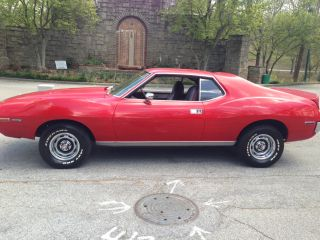 1971 Amc Javelin Amx - - Rare - - photo