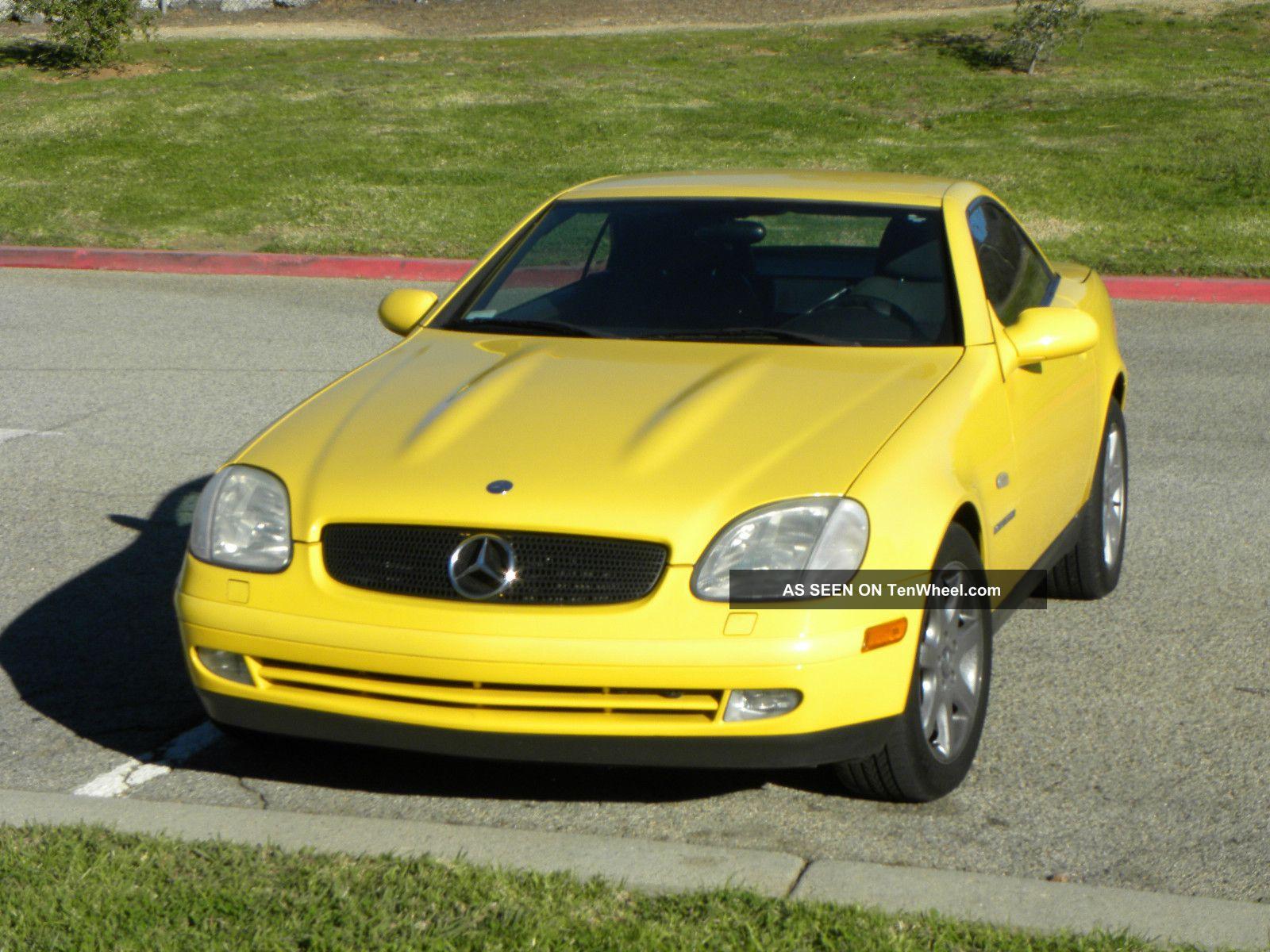1998 mercedes benz slk 230 for Mercedes benz slk 230