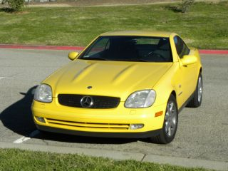 1998 Mercedes Benz Slk 230 photo