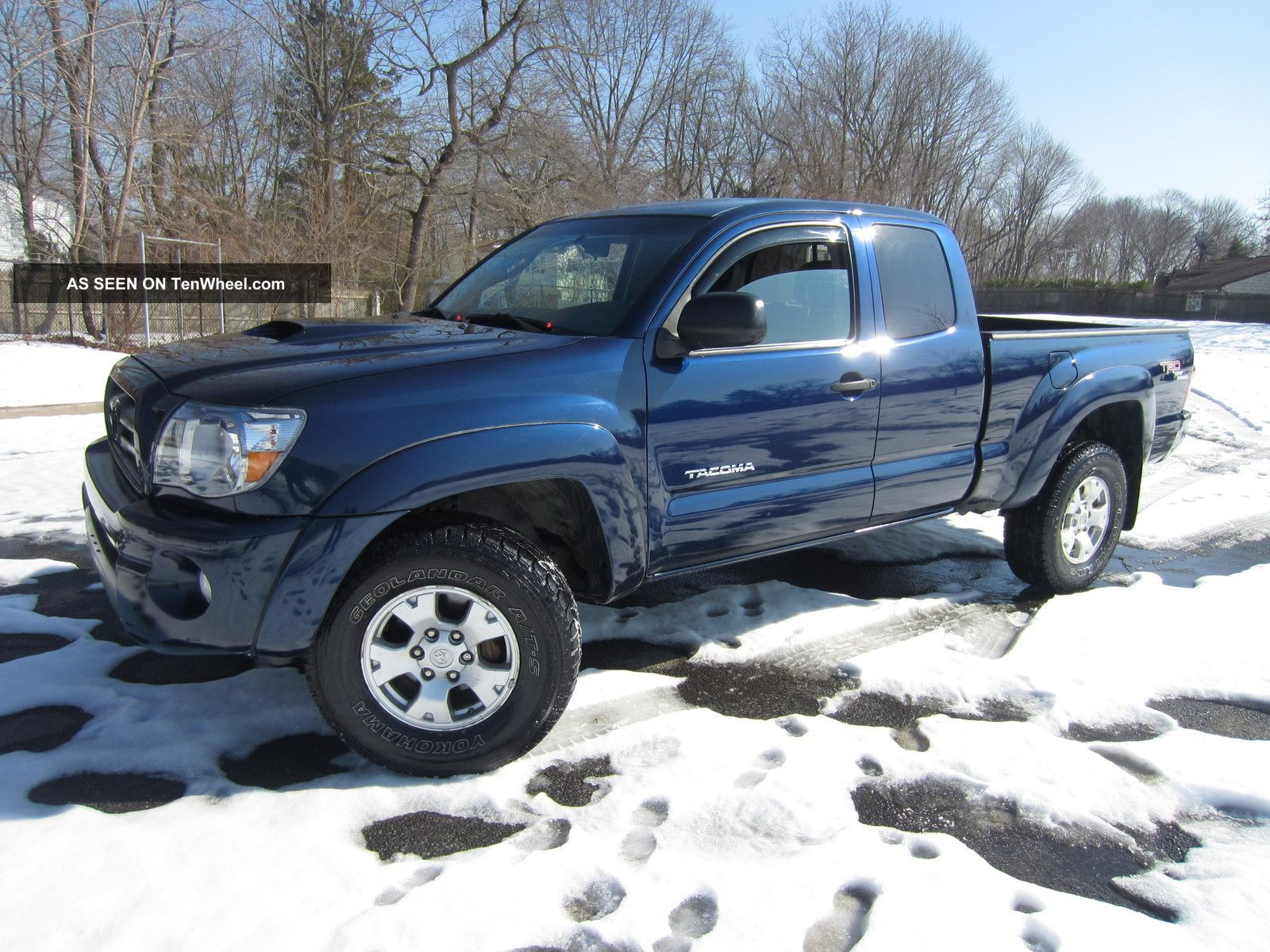 2007 Toyota Tacoma Trd, Extended Cab, 6speed