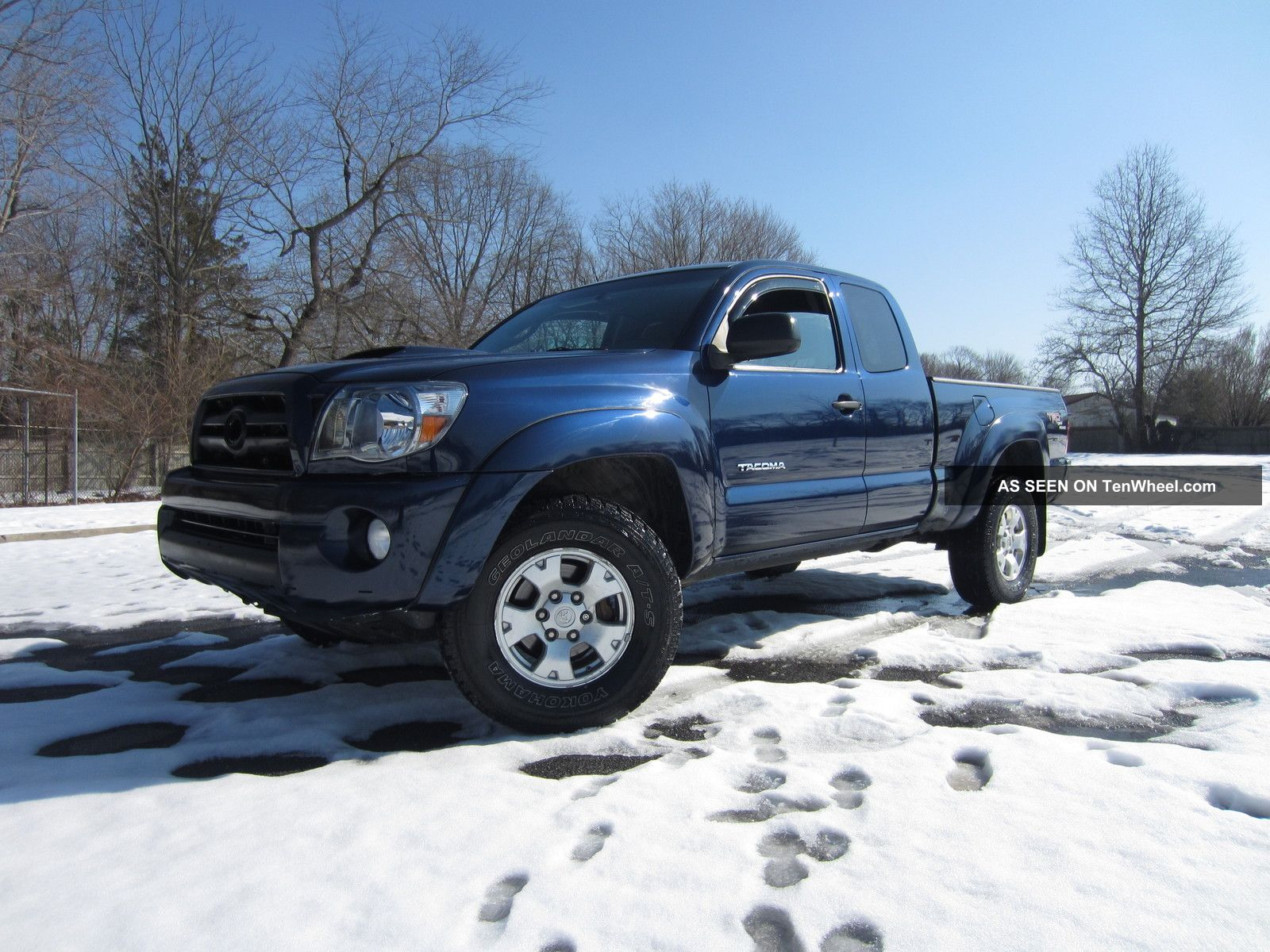toyota tacoma trd extended cab speed