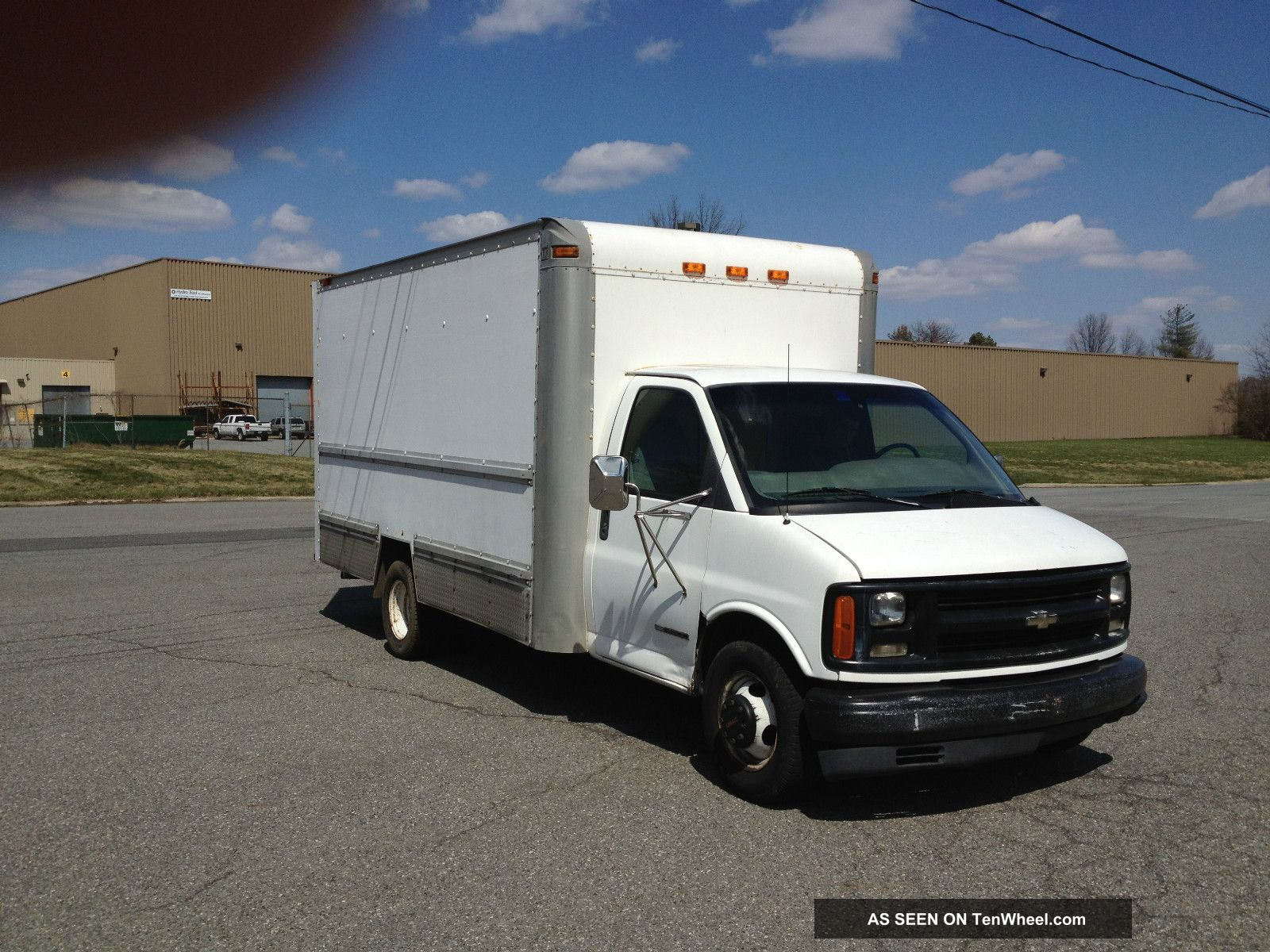 Gmc 3500 Box Trucks For Sale Gmc Free Engine Image For