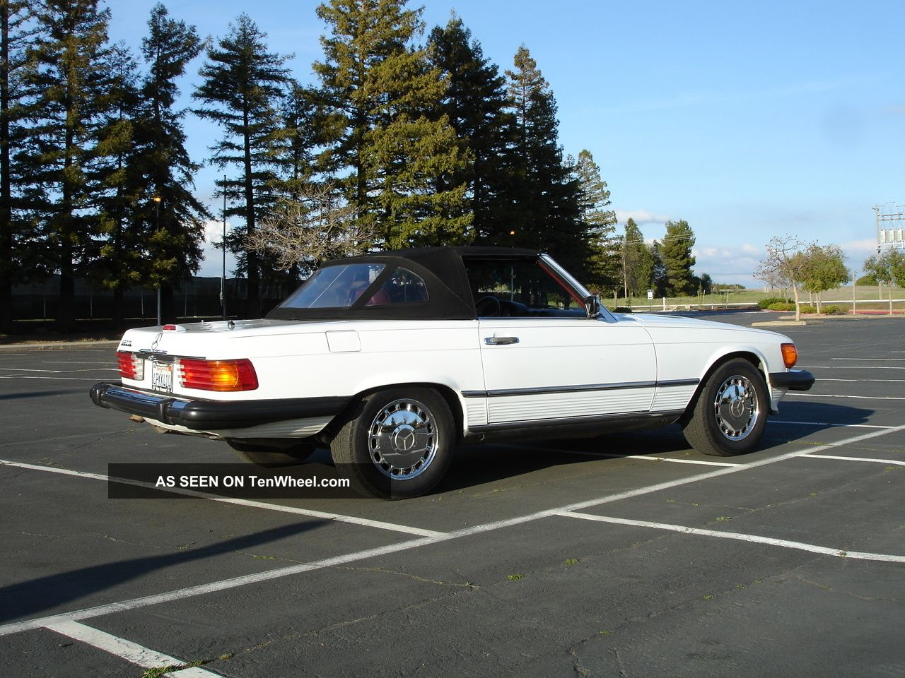 1989 mercedes 560 sl convertible 89 mercedes benz. Black Bedroom Furniture Sets. Home Design Ideas