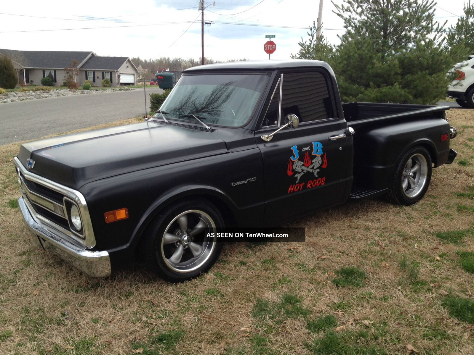 1969 Chevy C 10 C10 Truck Hot Rod Rat Shop Custom Chevrolet Fuse Box Pickup Must