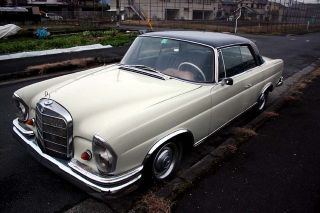 Mercedes - Benz 250se 2 Door Cupe 1967 L.  H.  D. photo