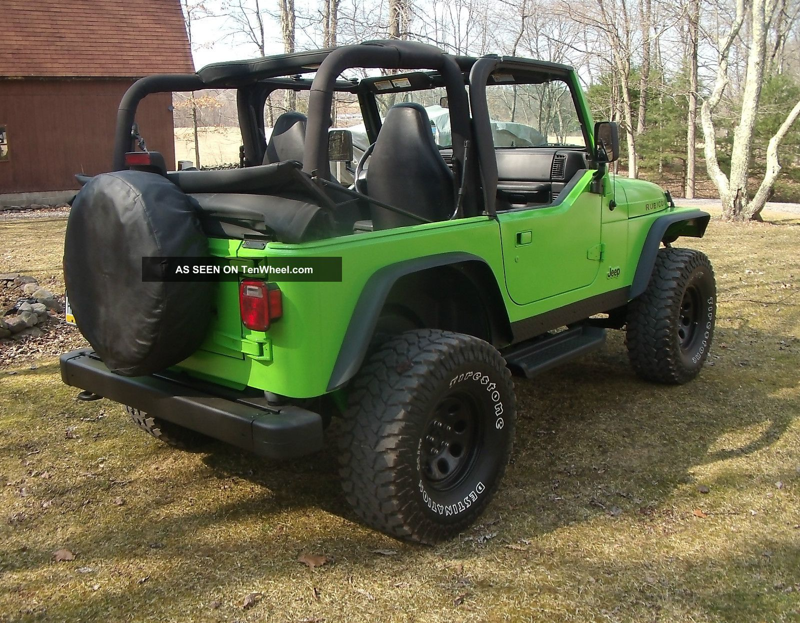 ... 2001 Jeep Wrangler 4. 0l Neon Green (lifted) 3 Day Wrangler Photo ...