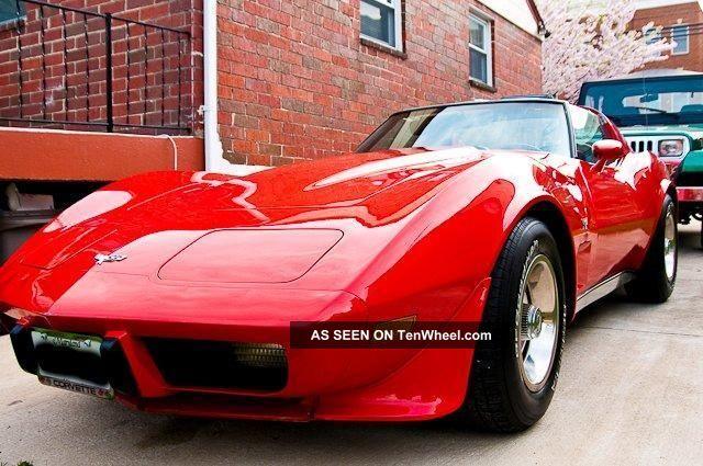 Red,  1977,  Corvette Corvette photo
