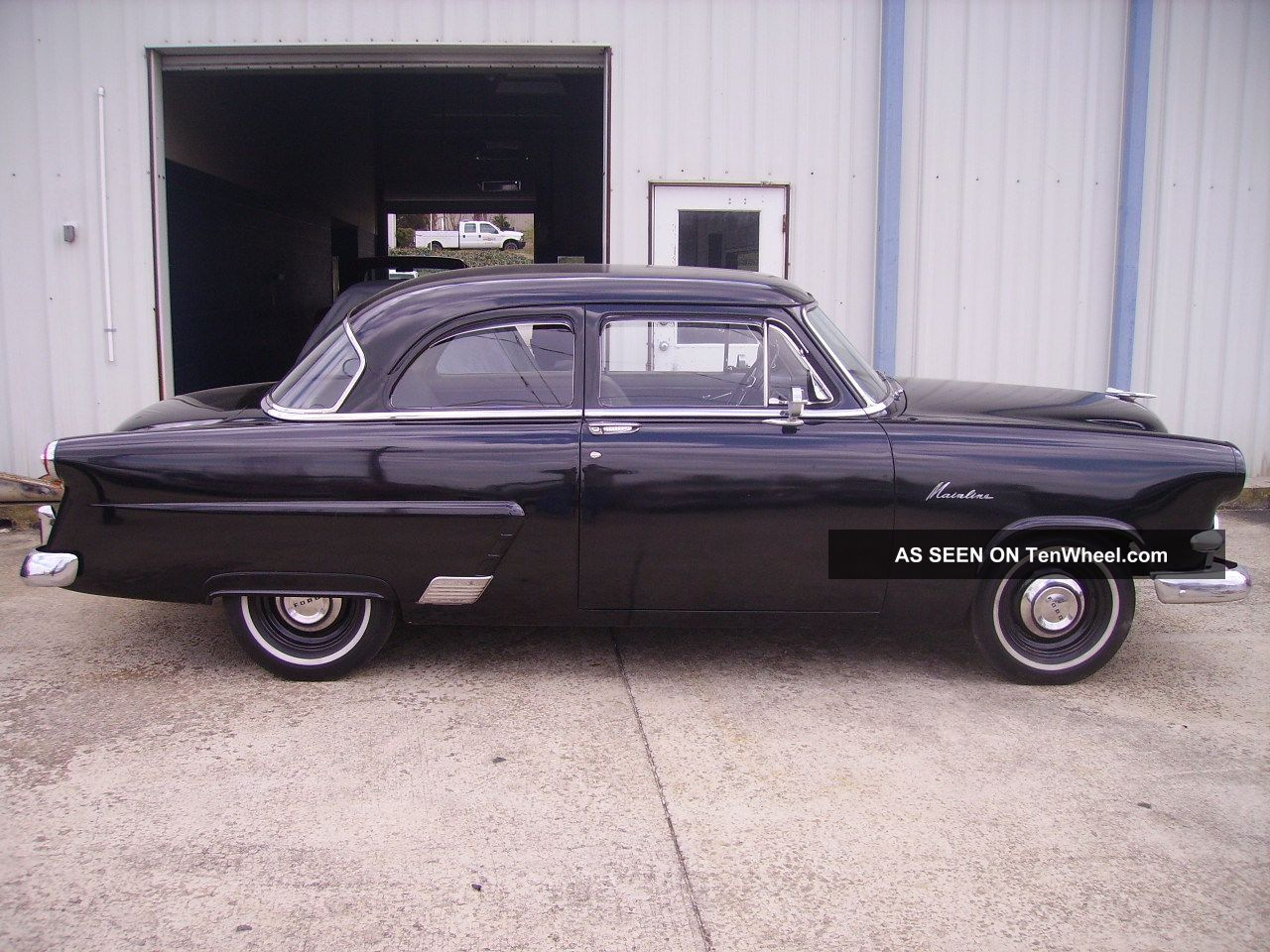 1953 ford mainline 4 door for 1953 ford 2 door sedan