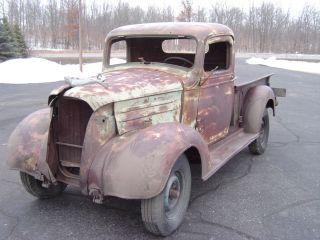 1937 Chevrolet Halfton Pickup photo