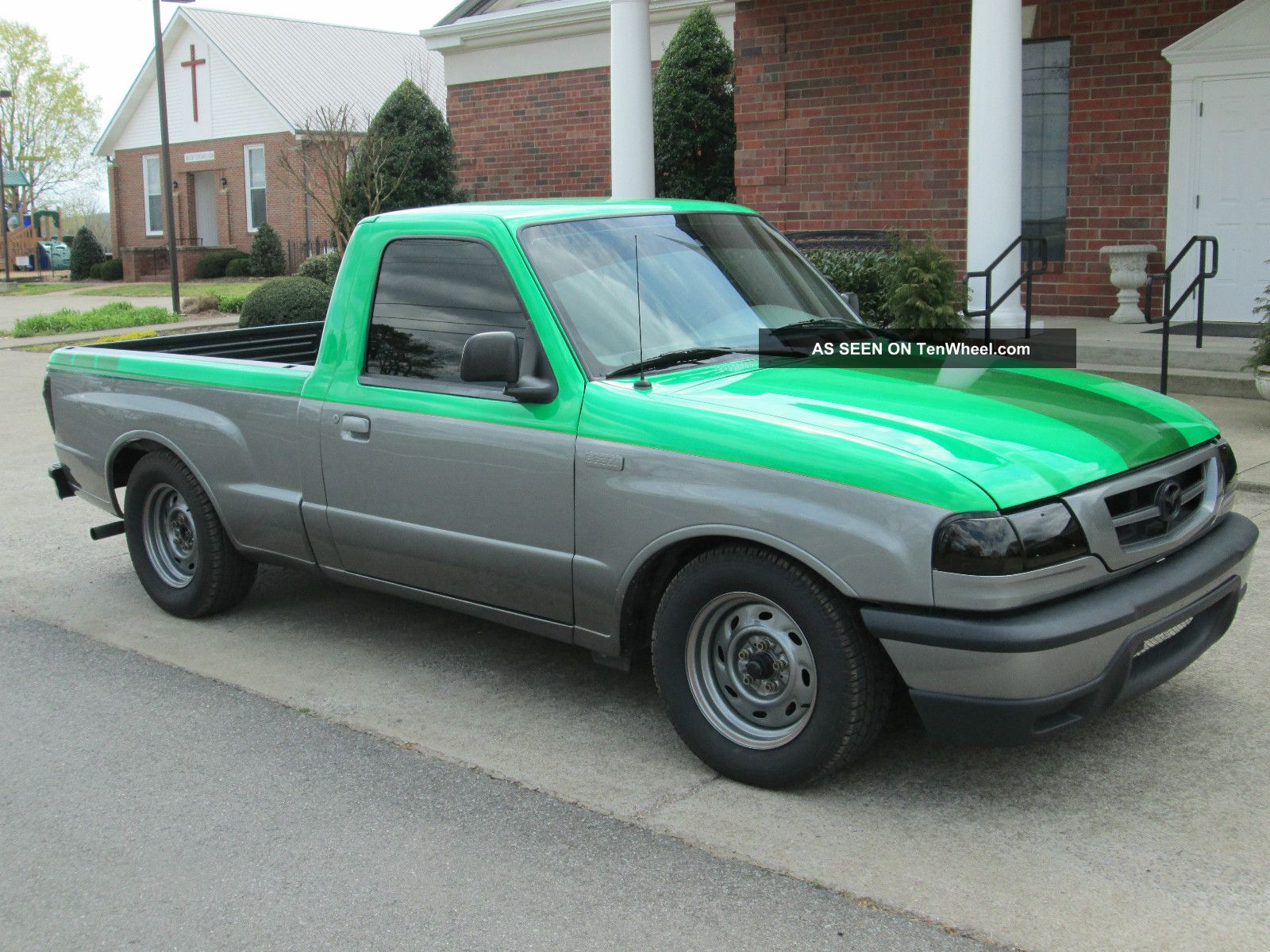 Lowered 2002 Mazda B2300 Complete Bolt On 7psi Turbo Kit Included 1994 Gmc Safari Wiring Harness