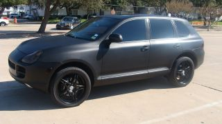 2004 Porsche Cayenne S (matte Black Paint) photo