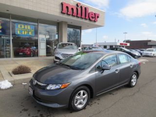 2012 Honda Civic Natural Gas With Sedan 4 - Door photo