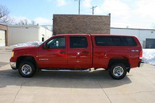 2009 Gmc Sierra 2500 Hd Sle 4x4 Crew Cab,  4 Door,  6.  0l photo