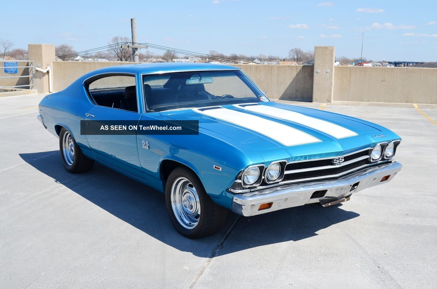 1969 Chevelle Ss396 4 Speed Video