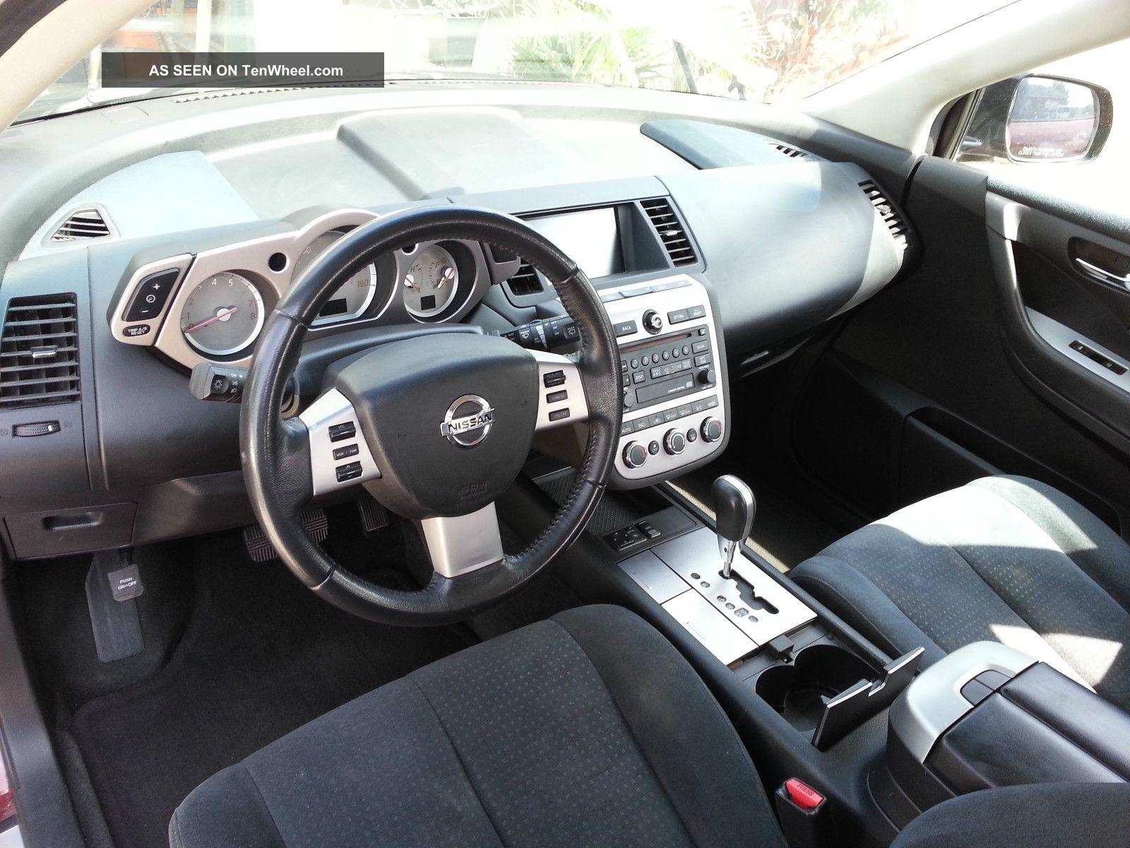 2006 Nissan Murano S Awd Title Maroon