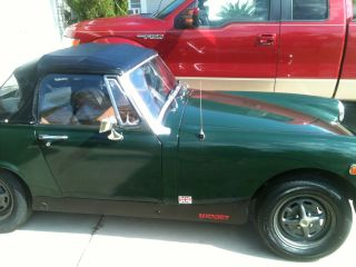 1976 Mg Midget Mk Iv Convertible 2 - Door 1.  5l photo