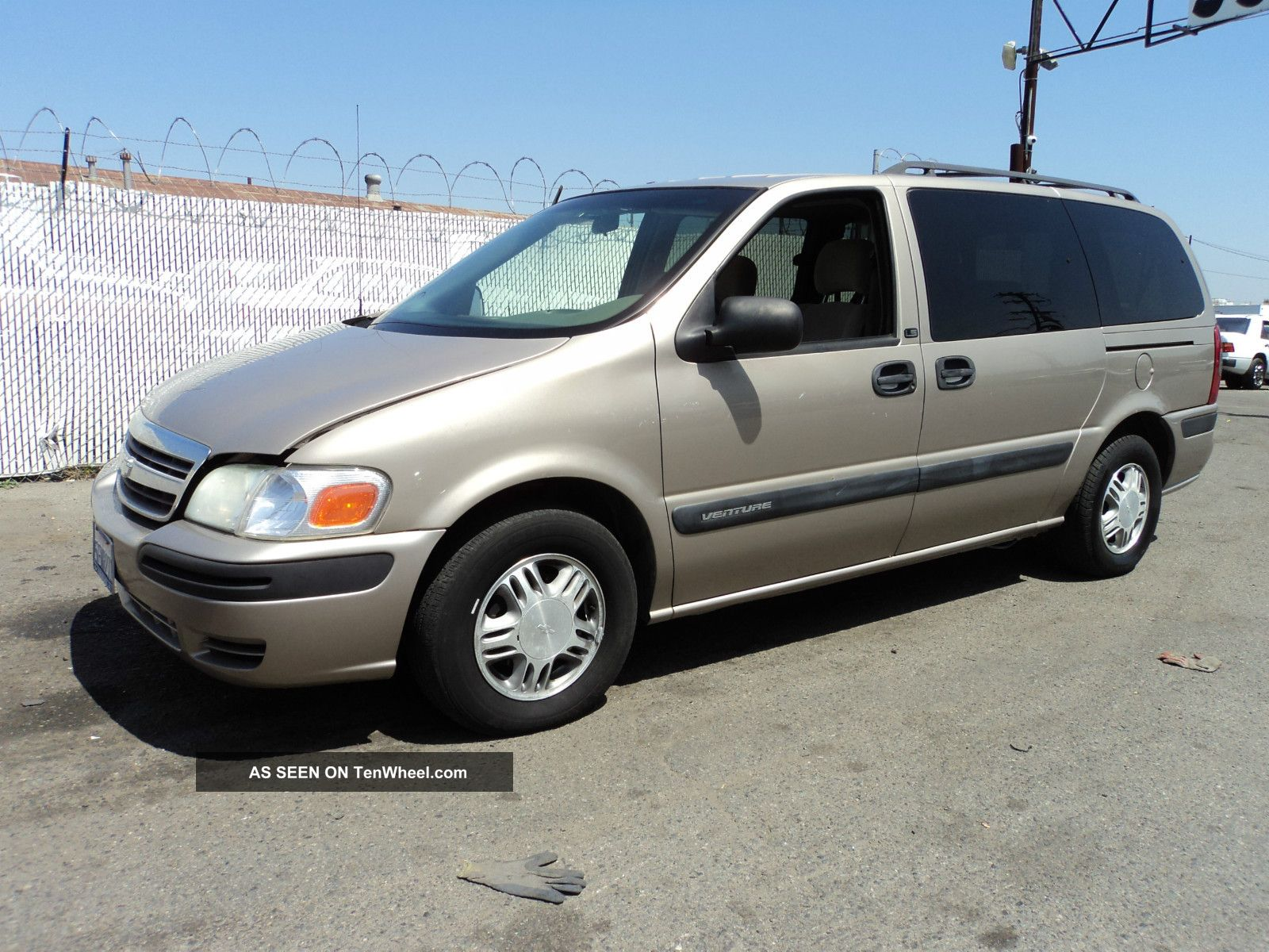 2003 Chevrolet Venture Ls Mini Passenger Van 4 Door 3 4l