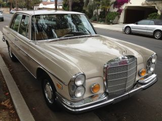 1970 Mercedes - Benz 280s Automatic 2.  8l photo