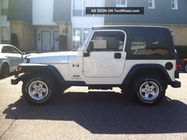 2004 Jeep Wrangler X Sport Utility 2