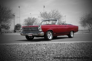 1966 Ford Fairlane Gta Convertible S - Code 390 Gt Many Pics Videos Make Offer photo