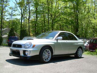 2002 Subaru Impreza Wrx Sedan 4 - Door 2.  0l photo