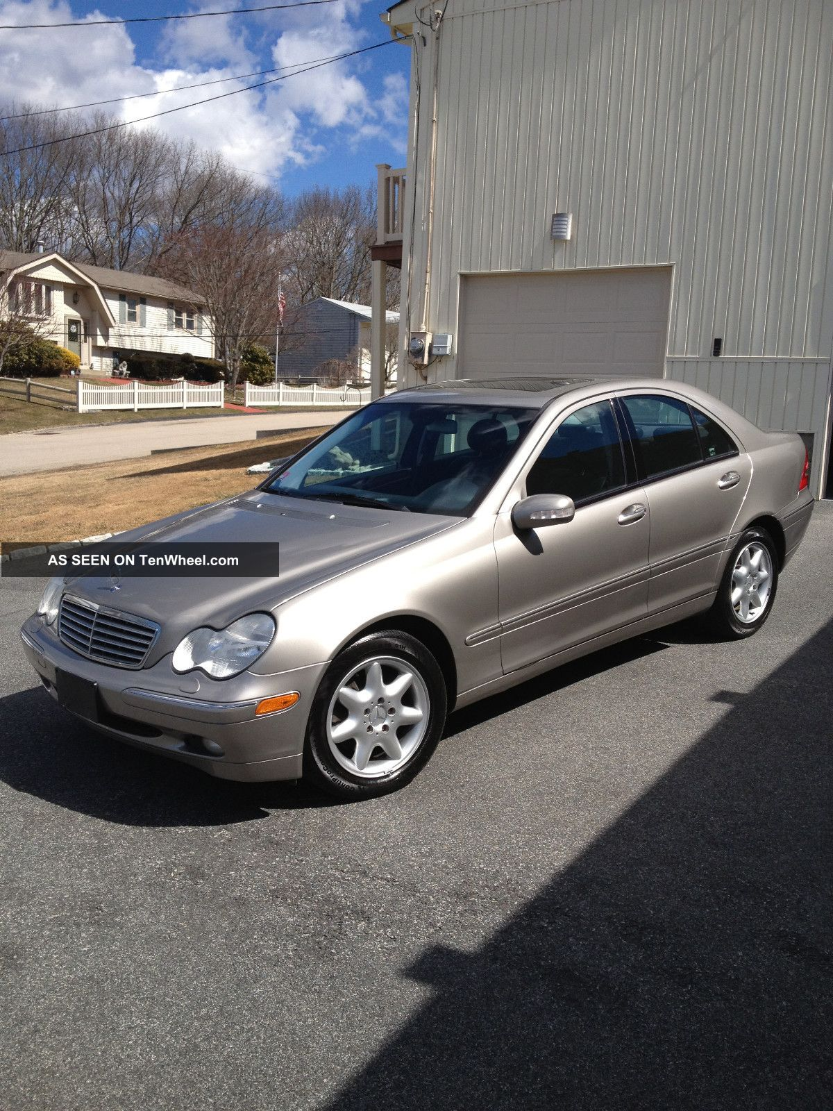 2003 Mercedes Benz C320 4matic Sedan 4 Door 3 2l
