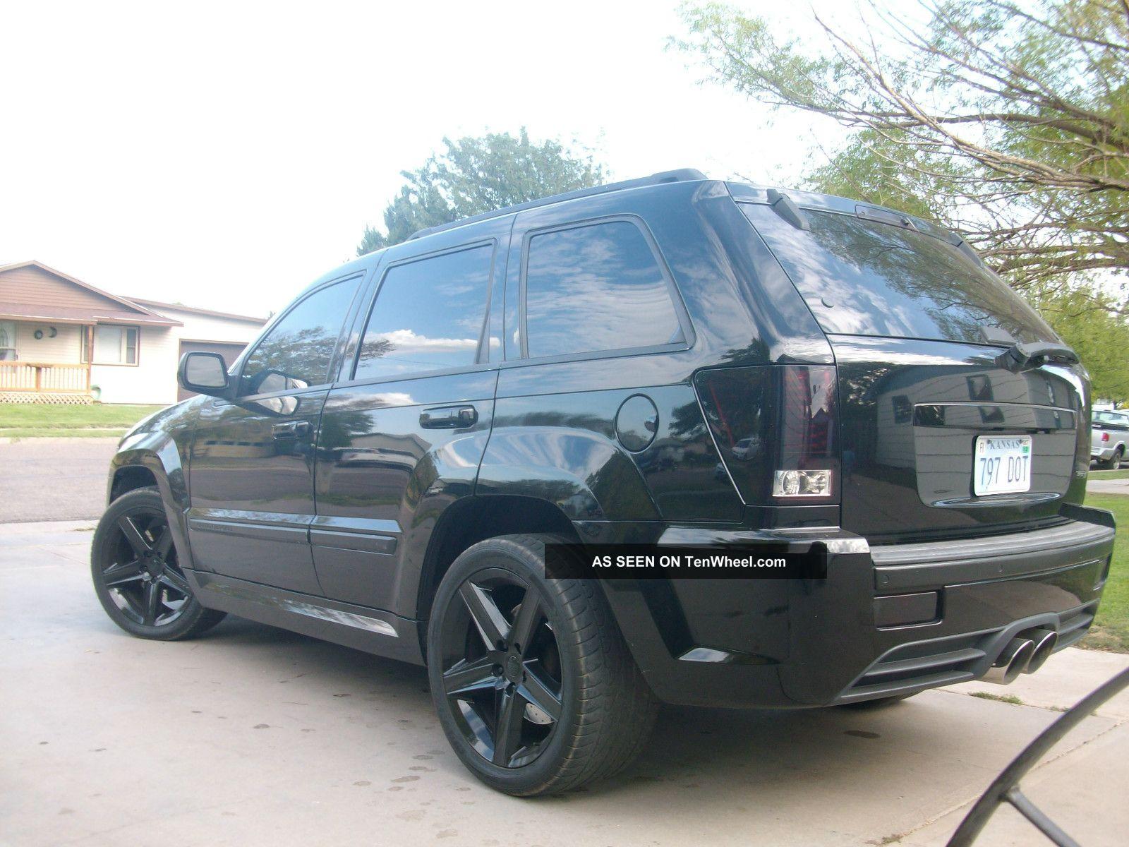 2006 Jeep Grand Cherokee Srt8 Sport Utility 4 Door 6 1l