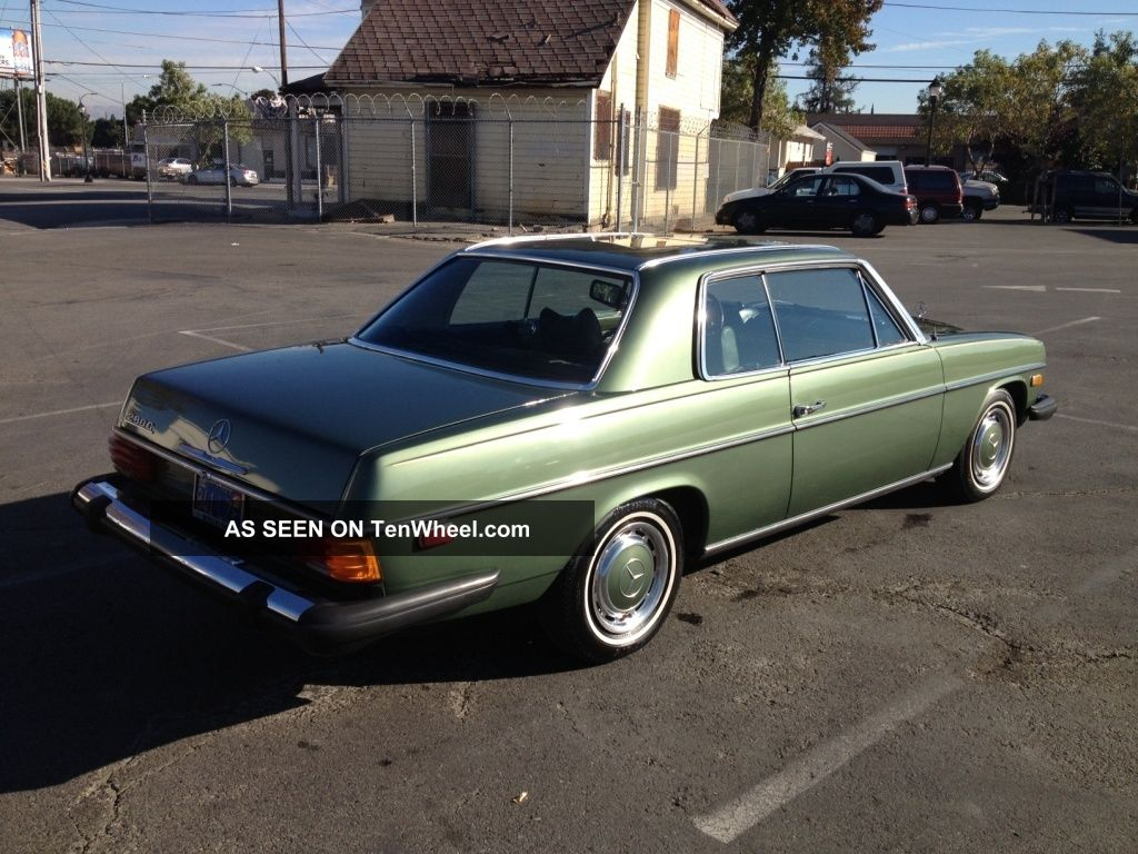 1974 mercedes benz w114 280 coupe for 1974 mercedes benz 280