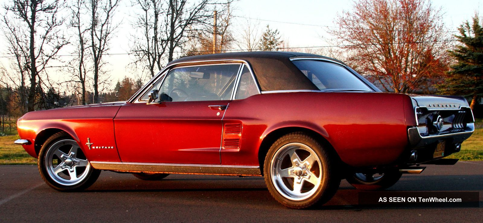 1967 Ford Mustang Coupe 289 V8 Restomod C4 Great Pony