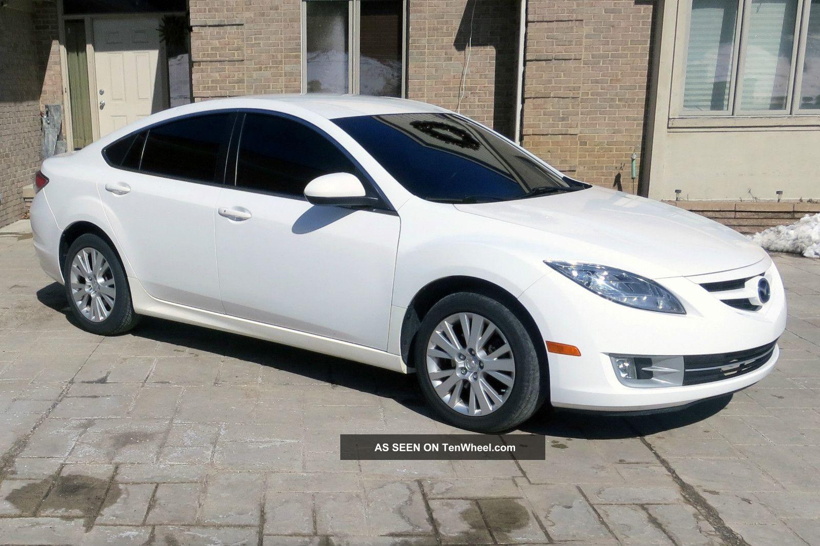 2009 Mazda 6 I Sedan 4 Door White