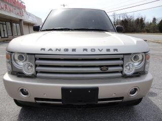 2003 Land Rover Range Rover Hse Sport Utility 4 - Door 4.  4l photo