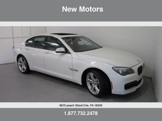 2012 Bmw 750xi W / M Sport,  Luxury Seating,  Cold Weather,  And Rear Entertainment photo