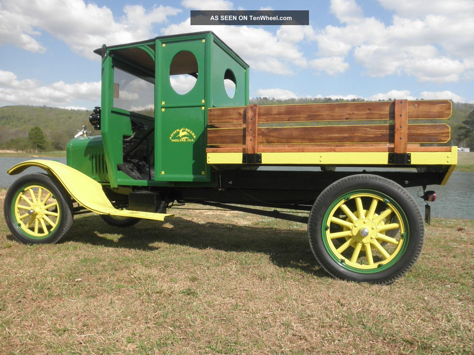 Rare 1926 Ford Model Tt John Deere Delivery Truck