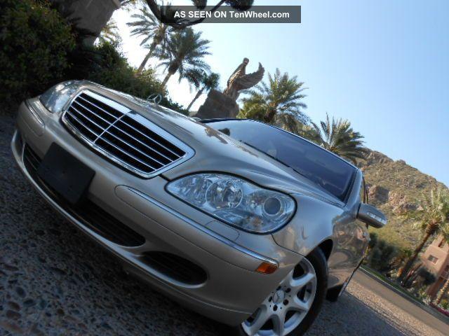 2003 Mercedes - Benz S430 4matic Sedan 4 - Door 4.  3l S-Class photo