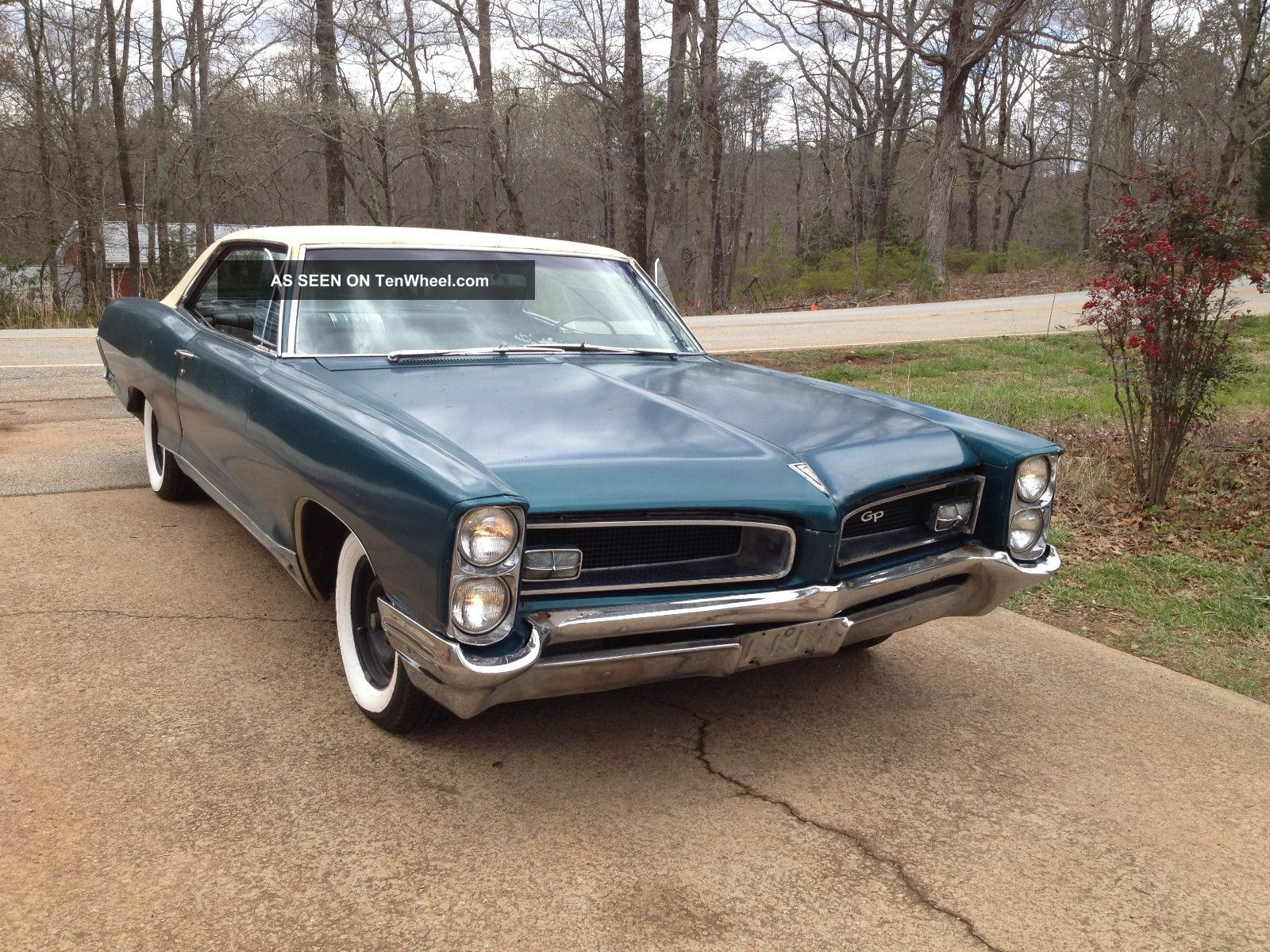 1966 Pontiac Grand Prix Sport Coupe Loaded Car Solid