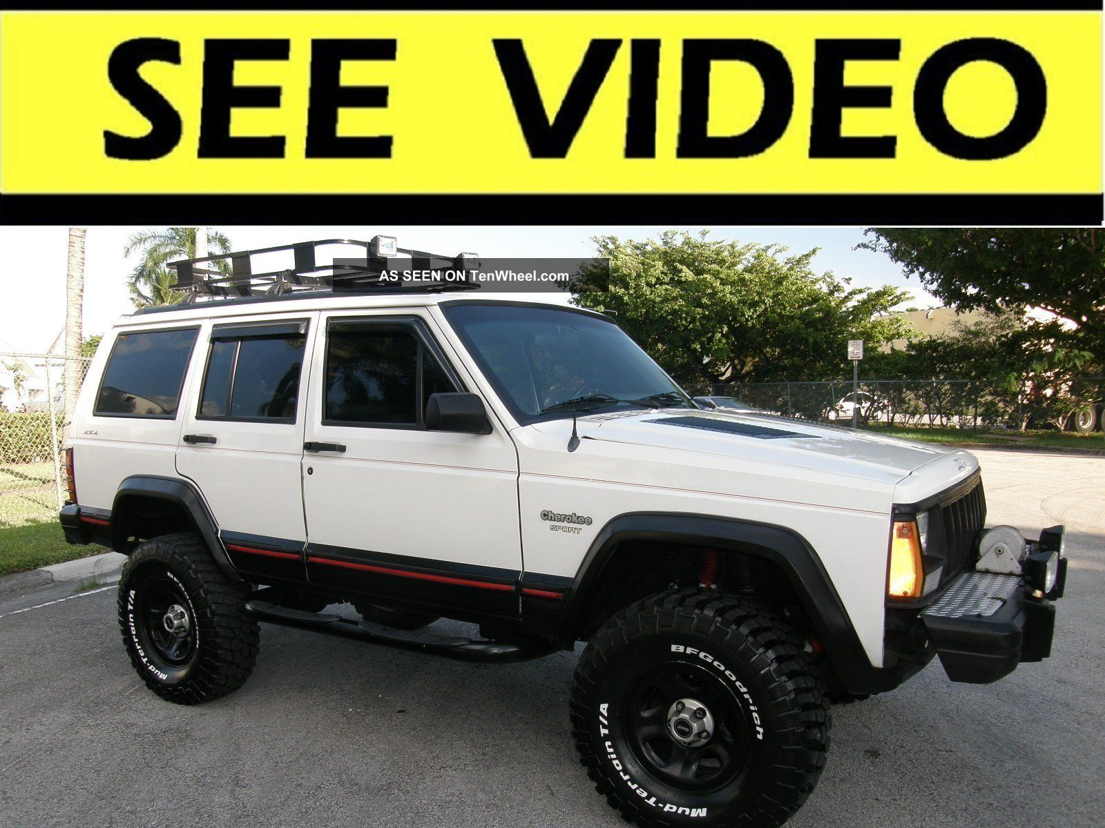 1996 Jeep Cherokee Sport 6 Inch Lift Custom Work See Video Wiring Diagram
